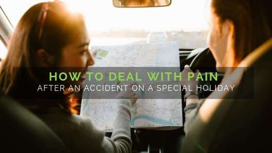How to deal with pain after an accident on a special holiday