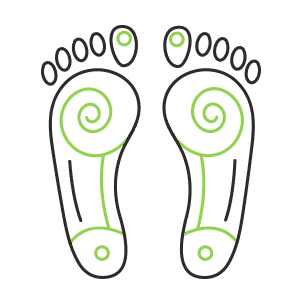 Feet Icon - Icon Medical Center